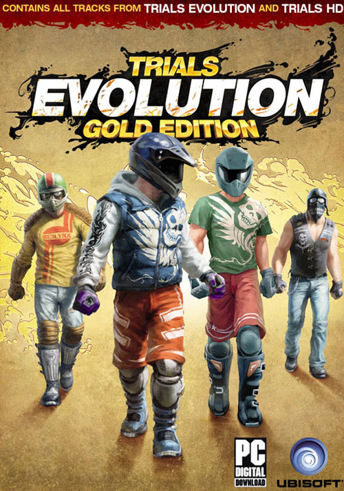 Trials Evolution Gold Edition - Cover / Packshot