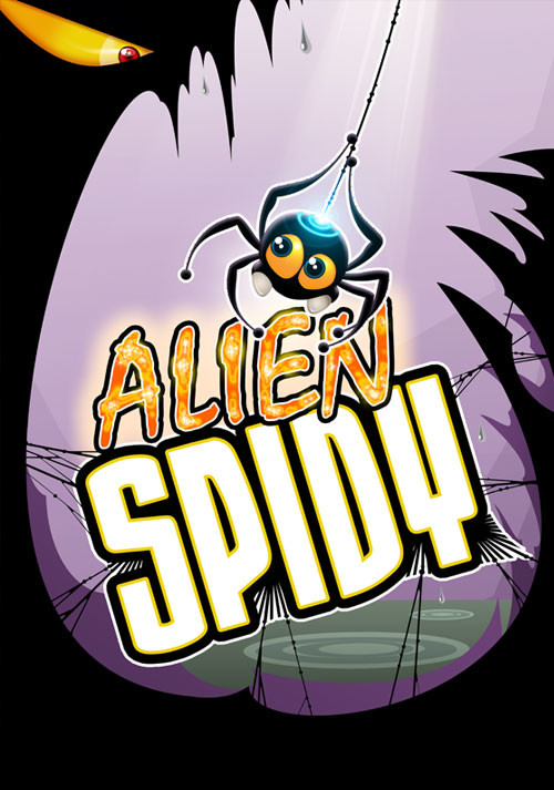 Alien Spidy - Cover / Packshot