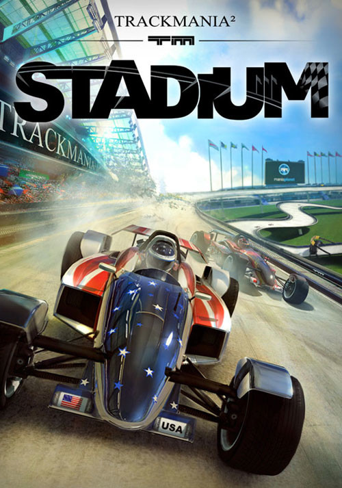 TrackMania² Stadium - Packshot