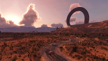 Screenshot5 - TrackMania² Canyon