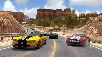 Screenshot1 - TrackMania² Canyon