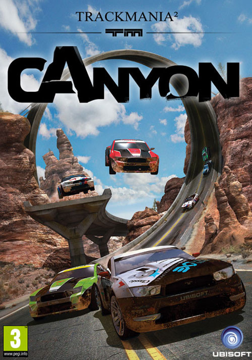 TrackMania² Canyon - Cover / Packshot