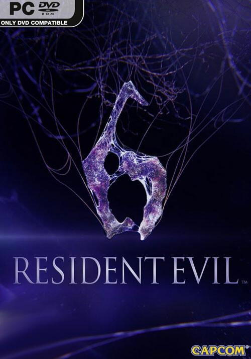 Resident Evil 6 - Cover