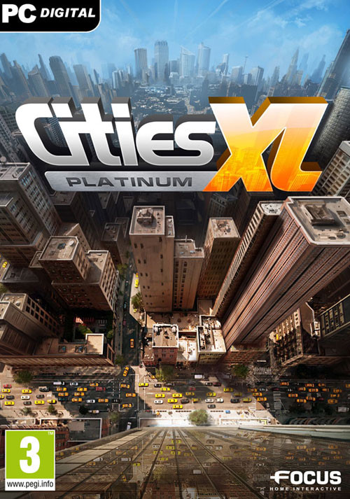 Cities XL Platinum - Cover / Packshot