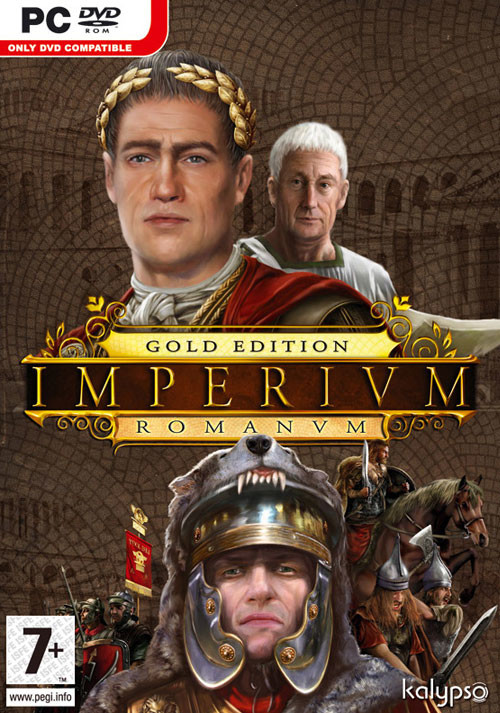 Imperium Romanum - Gold Edition - Cover