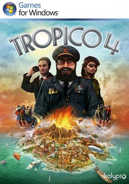 Tropico 4: Steam Special Edition - Cover