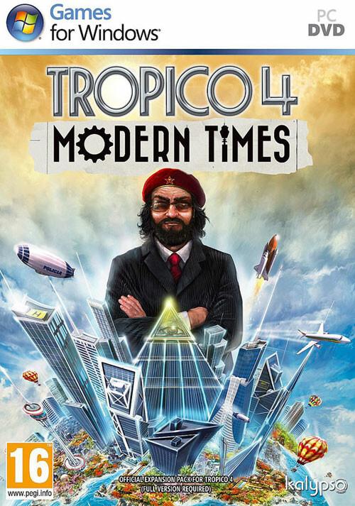 Tropico 4: Modern Times DLC - Cover / Packshot