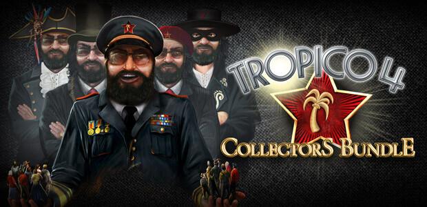 Tropico 4: Collector's Bundle - Cover / Packshot