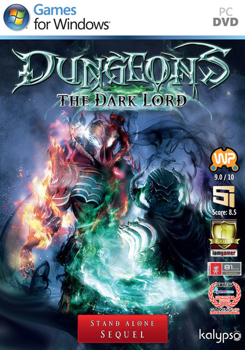 Dungeons: The Dark Lord - Cover