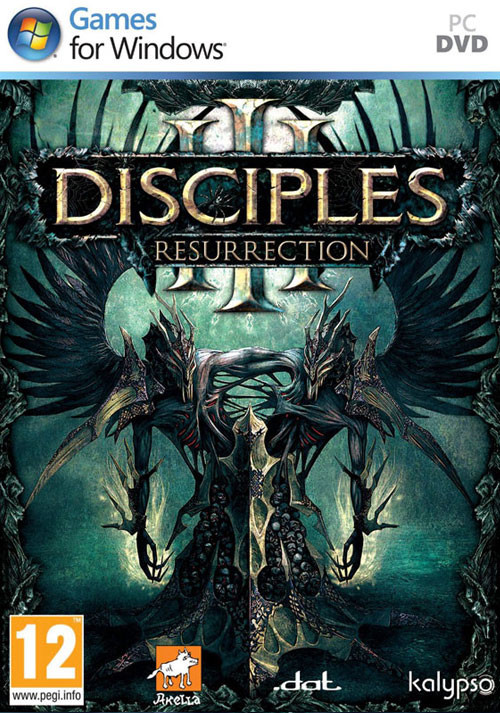 Disciples III: Resurrection - Cover