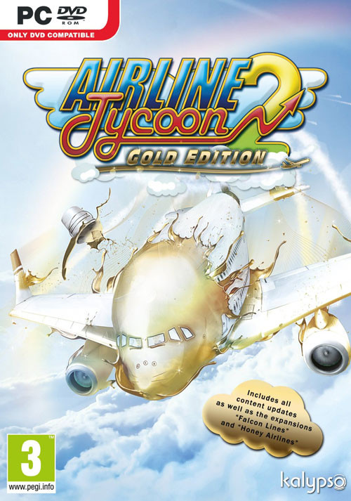 Airline Tycoon 2 Gold Edition - Cover