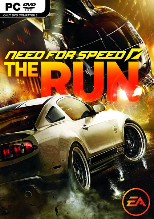 Need for Speed: The Run - Cover / Packshot