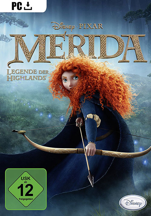 Merida - Legende der Highlands - Cover