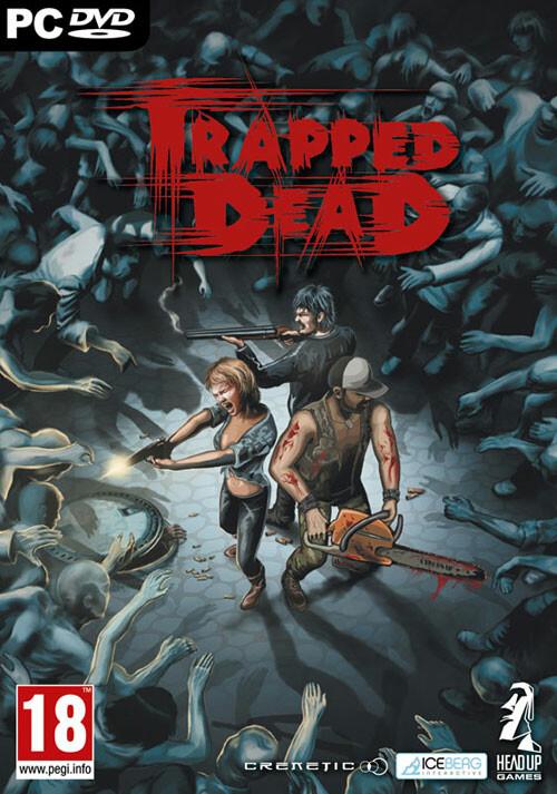 Trapped Dead - Cover / Packshot