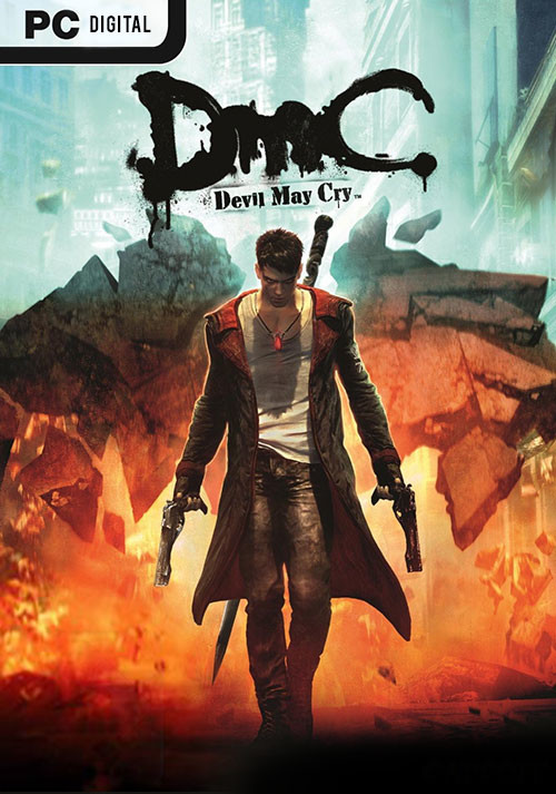 DMC - Devil May Cry - Packshot