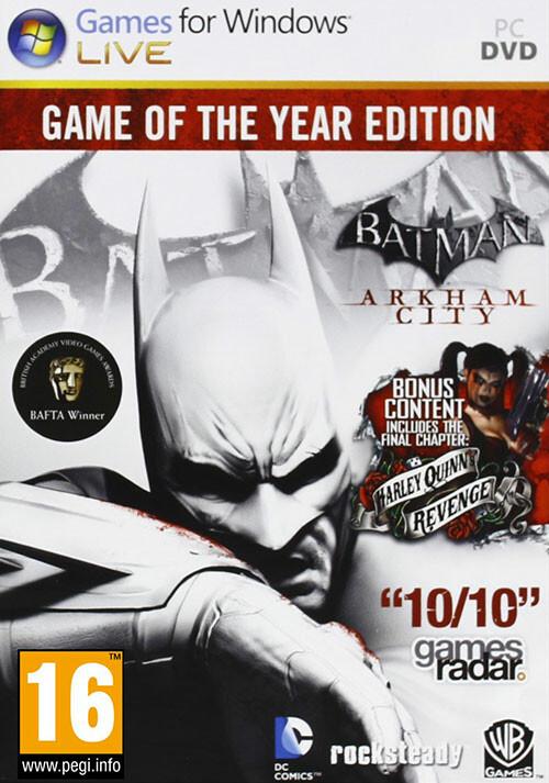 Batman Arkham City GOTY - Cover / Packshot