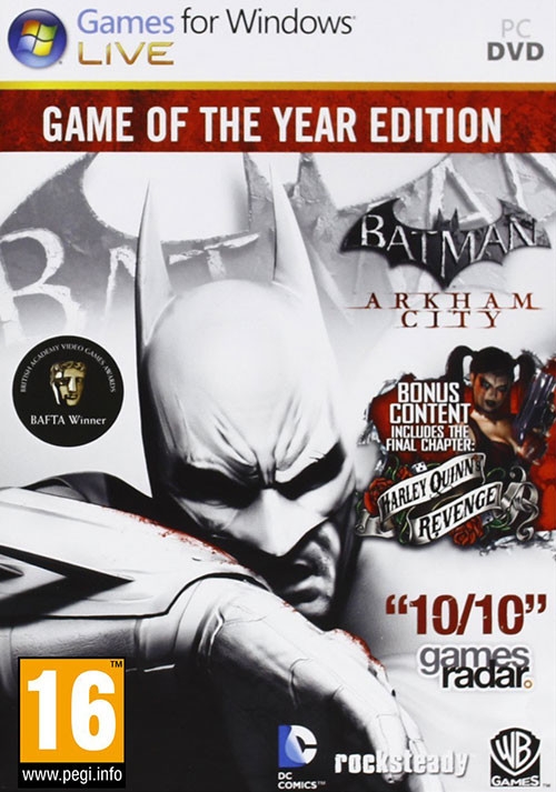 Batman Arkham City GOTY - Cover