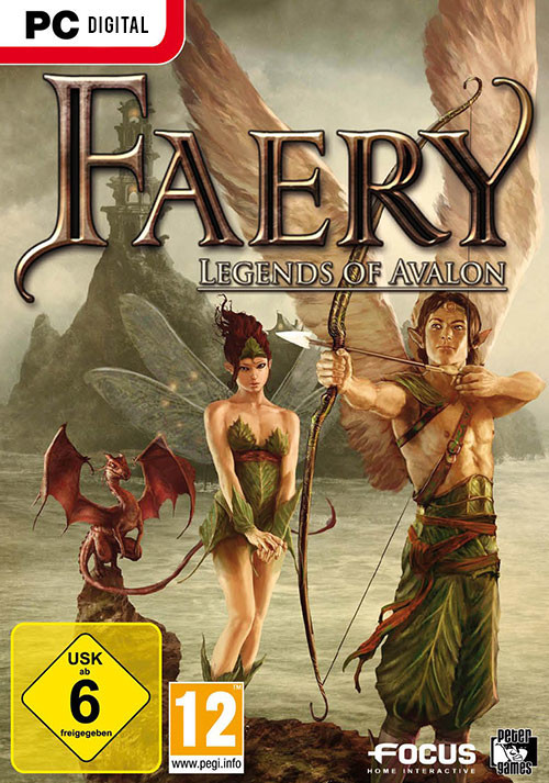 Faery: Legends of Avalon - Cover