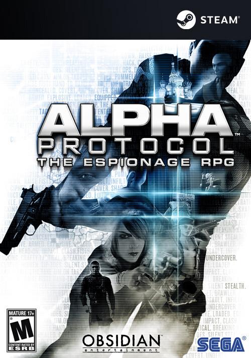 Alpha Protocol - Cover