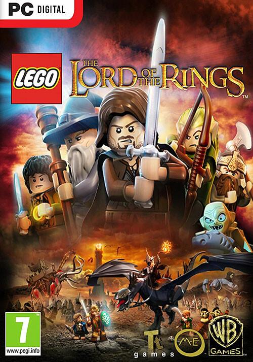 LEGO: Der Herr der Ringe - Cover / Packshot