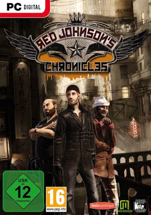 Red Johnson's Chronicles - Cover