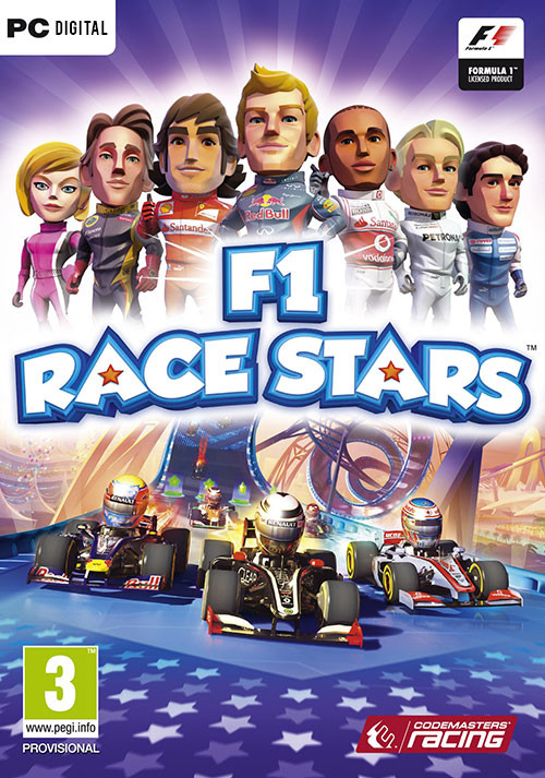 F1 Race Stars - Cover / Packshot