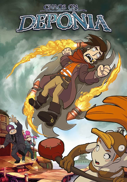Chaos on Deponia - Cover