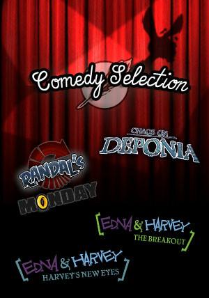 The Daedalic Comedy Selection - Cover