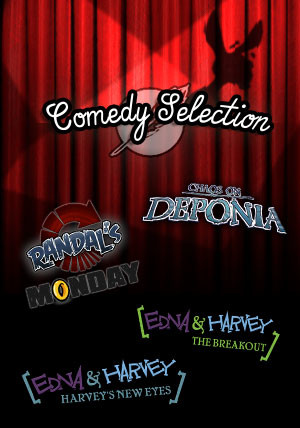 The Daedalic Comedy Selection - Cover / Packshot