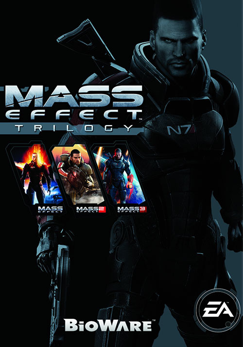 Mass Effect Trilogy - Packshot