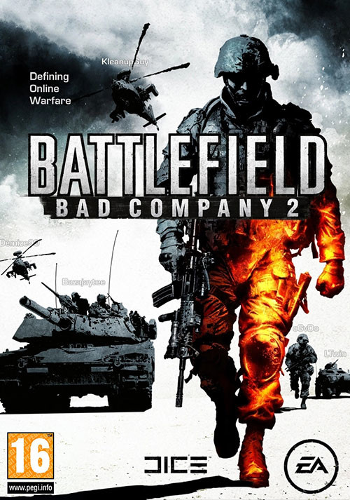 Battlefield: Bad Company 2 - Cover / Packshot