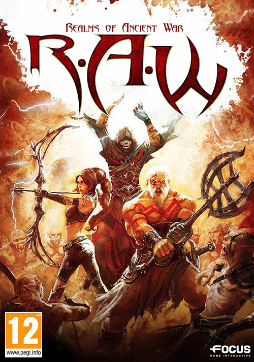 RAW - Realms of Ancient War - Cover / Packshot