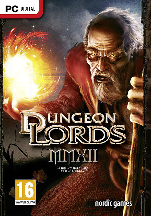 Dungeon Lords Steam Edition - Cover