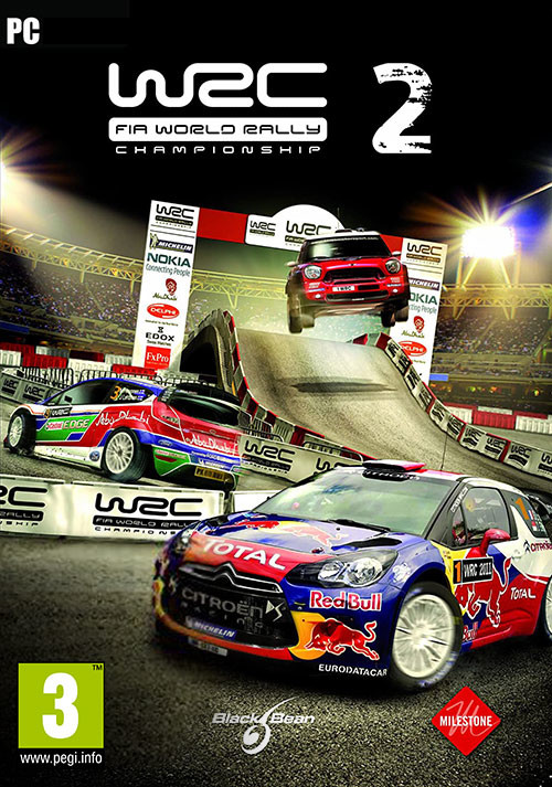 WRC 2 FIA World Rally Championship - Cover / Packshot