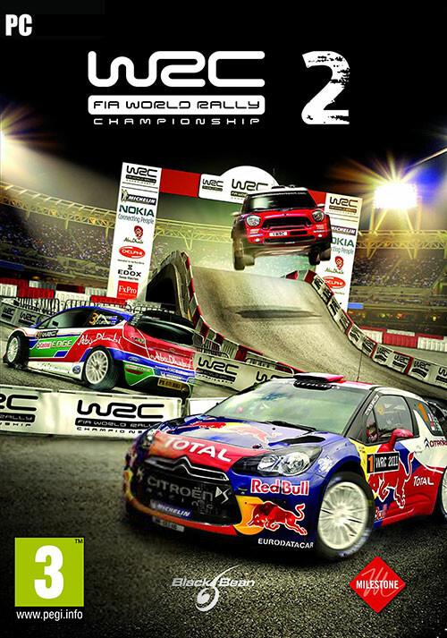 WRC 2 FIA World Rally Championship - Cover / Packshot