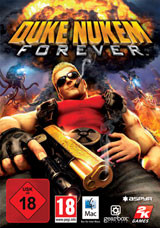 Duke Nukem Forever (Mac) - Cover