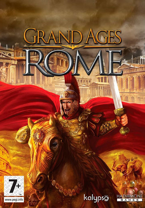 Grand Ages: Rome - Cover