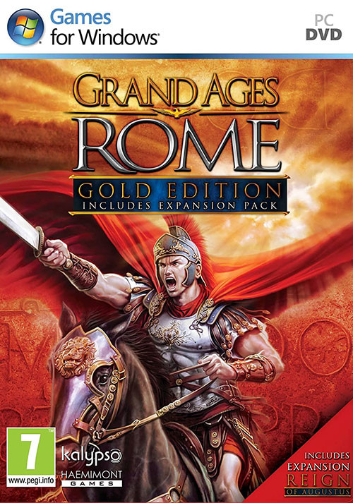 Grand Ages: Rome - Reign of Augustus - Cover / Packshot