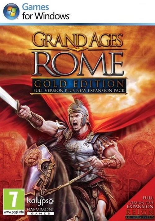 Grand Ages: Rome - Gold Edition - Cover / Packshot