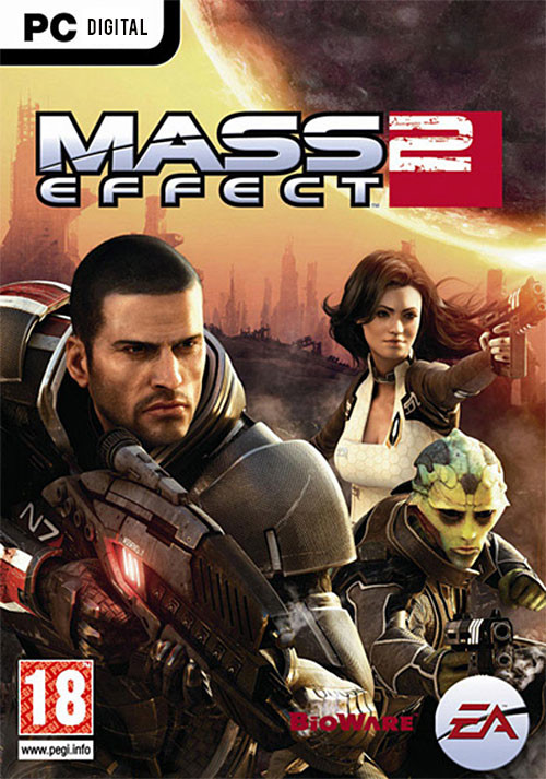 Mass Effect 2 - Packshot