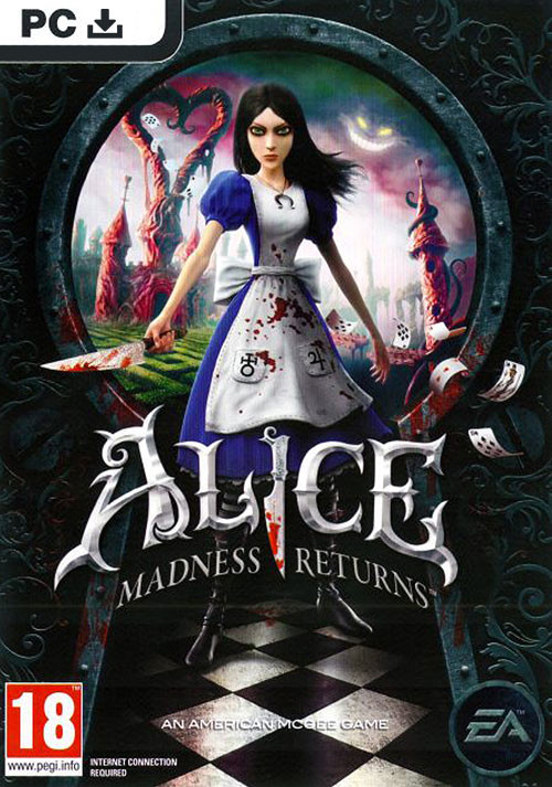 Alice: Madness returns - Packshot