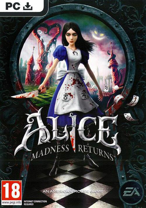 Alice: Madness returns - Cover / Packshot
