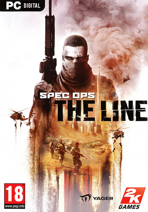 Spec Ops: The Line - Cover / Packshot