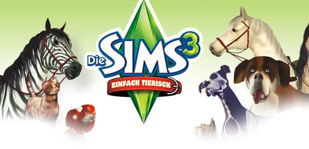 Die Sims 3: Einfach tierisch - Cover / Packshot