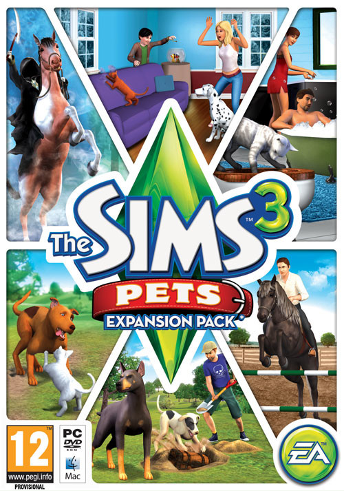 The Sims 3 Pets - Cover / Packshot