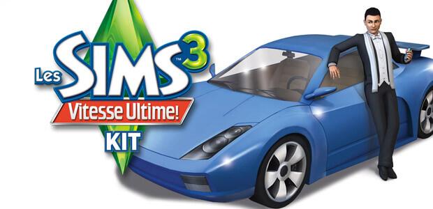 Les Sims 3 Vitesse Ultime Kit - Cover / Packshot