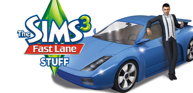 The Sims 3 - Fast Lane Stuff Pack - Cover / Packshot