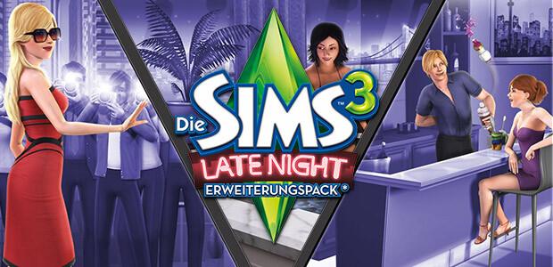 Die Sims 3: Late Night Pack - Cover / Packshot