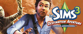 Les Sims 3 Destination Aventure Pack d'Extension