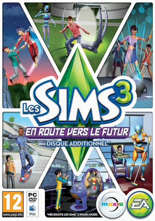 Les Sims 3: En Route vers le Futur - Cover / Packshot
